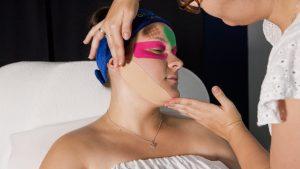 face taping, lifting twarzy, ujędrnienie twarzy, redukcja obrzęków, Katowice, anpaTu