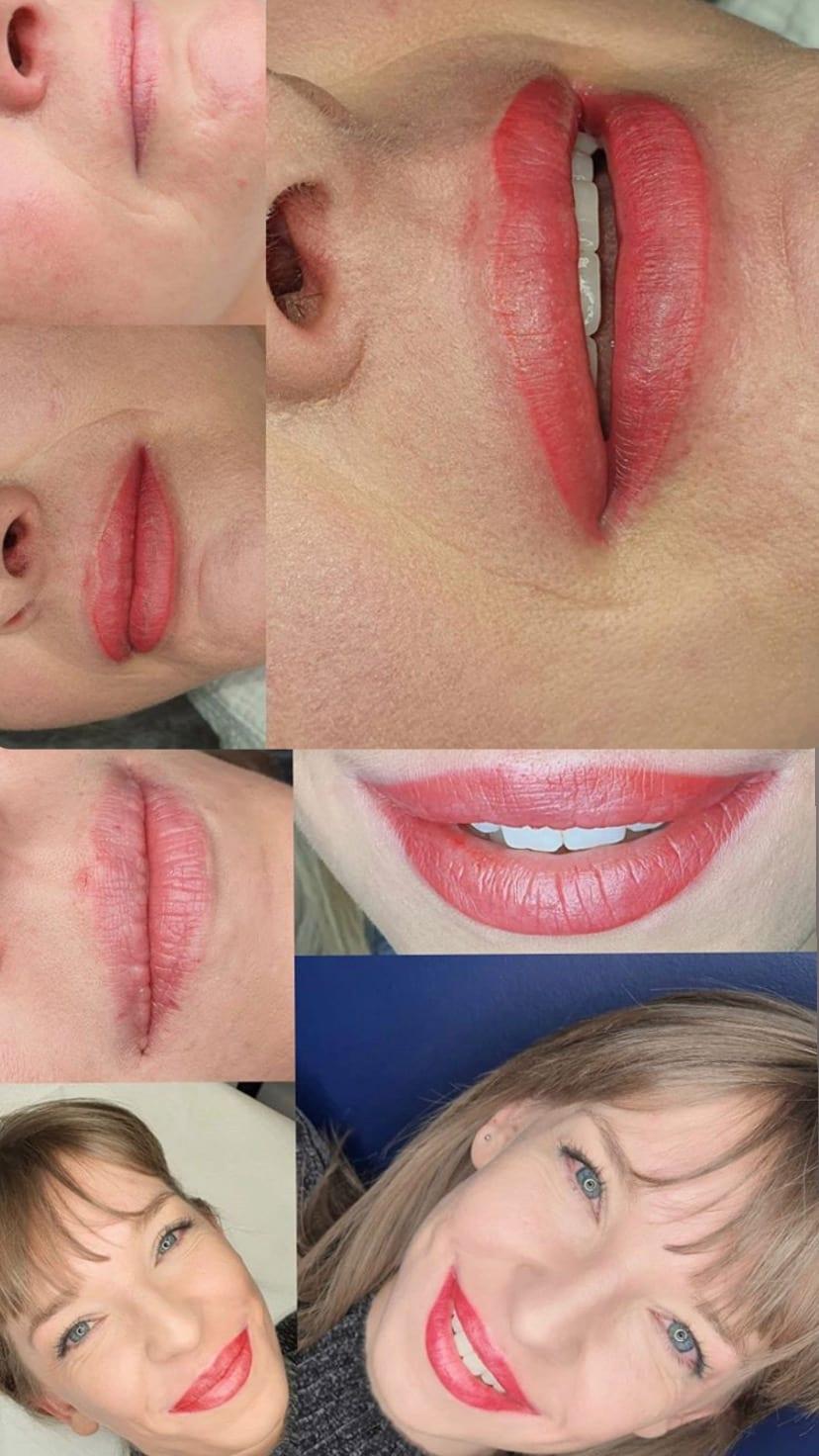 makijaż permanentny Katowice, usta, makijaż ust anpaTu