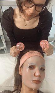 masaż szklanymi kulami Crystal globus krioterapia Katowice anpaTu